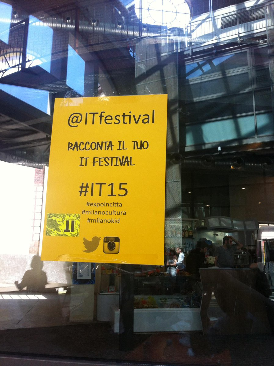 Thumbnail for Due giorni a IT festival, tre a Milano #IT15 #Expo2015