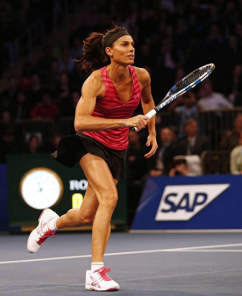 "tennis MAGAZIN on Twitter ""Congrats Gabriela Sabatini 45 yrs"