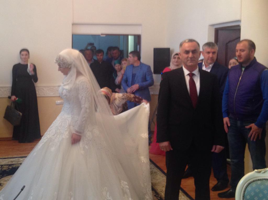 Свадьба тысячелетия в чечне.
