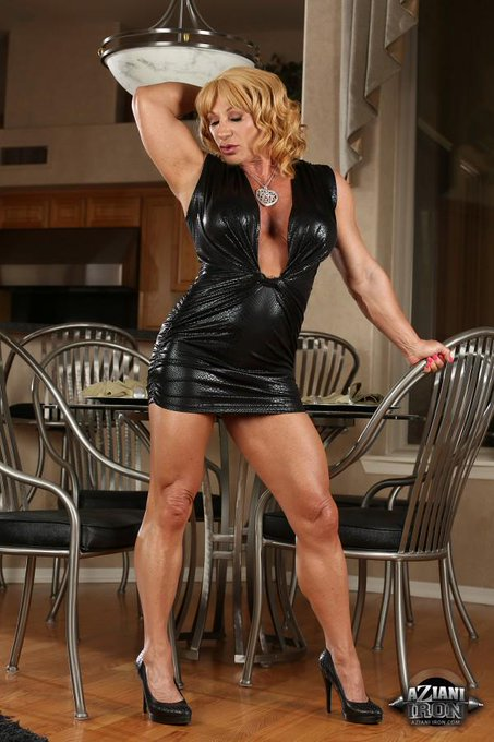 New Hot Photos On http://t.co/dB3QVoy7rb #Bodybuilder #Bodybuilding #Muscles #Fitness #BigClit #FBB #MILF