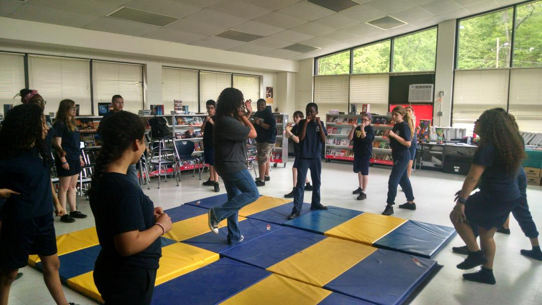 Martial arts for #collegeday @BVPrep http://t.co/ZVm1pH8IDC