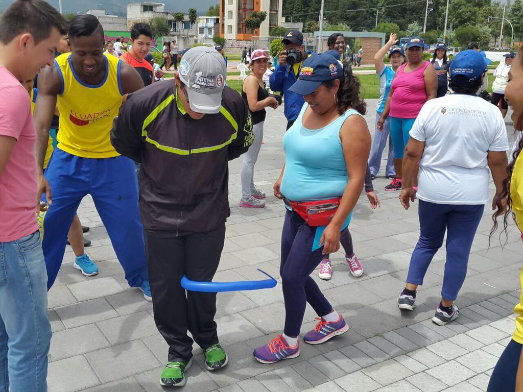 Deporte Ecuador On Twitter Ibarra En El Parque Ciudad Blanca