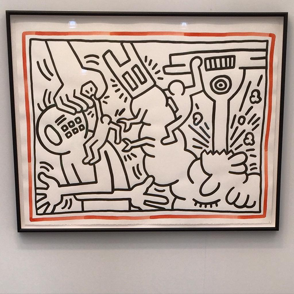 Keith Haring #FriezeNY 2015 http://t.co/NNpSbRyOvF