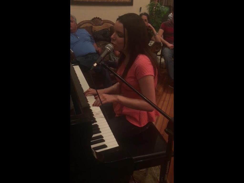 "My cover of ""I Have A Dream"" by ABBA. Hope you like it.  http://t.co/eiDL8TPmtD http://t.co/2un9s1XBKl"
