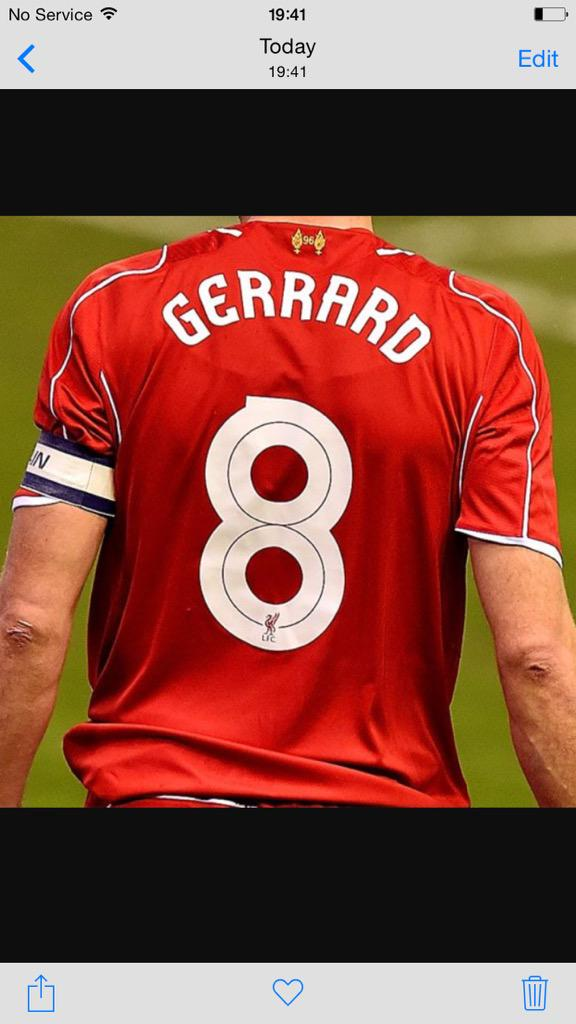 I know football clubs don't tend to do it but I'd like to see liverpool retire that number 8 shirt. http://t.co/FWY2AMovdY