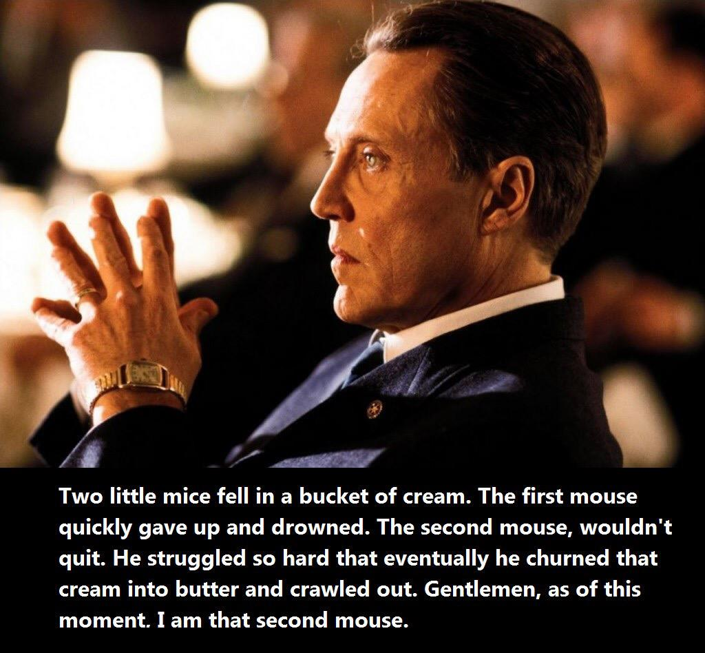 Film Quotes We On Twitter Two Little Mice Fell In A Bucket