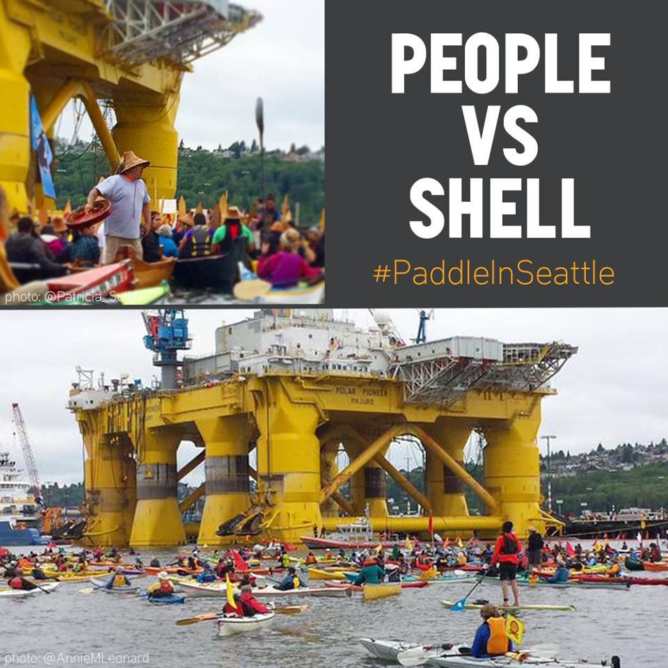 Seattle is witnessing an incredible show of people power. Native communities, musicians, activists #ShellNo via @350 http://t.co/8ntlcRnunl