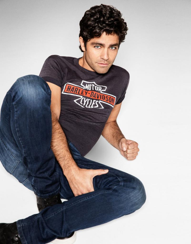 Adrian grenier has strong feelings about girls who floss, you guys