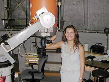 "Using this 14"" on the roof of the old astro building at Caltech, we found methane storms on Titan. #girlswithtoys http://t.co/qijKddal4z"