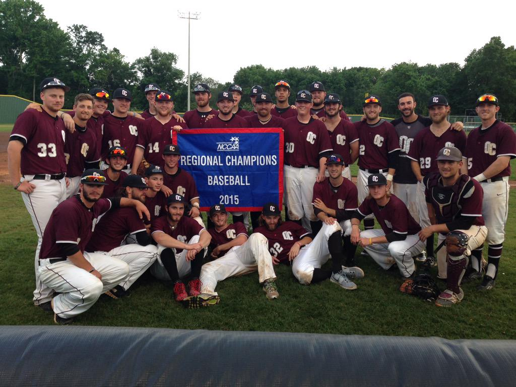 2015 baseball region champs