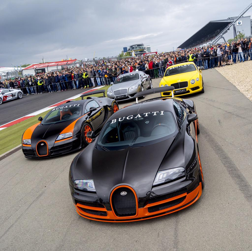 """Bugatti On Twitter: """"Two World Speed Record Cars Lined Up"""