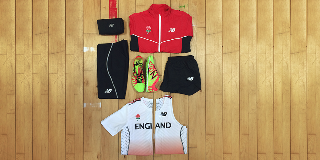 england athletics new balance kit