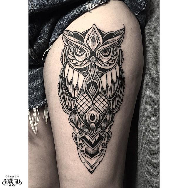 m s de 1000 ideas sobre tatuajes del muslo b ho en pinterest tatuajes muslo tatuajes de b ho. Black Bedroom Furniture Sets. Home Design Ideas