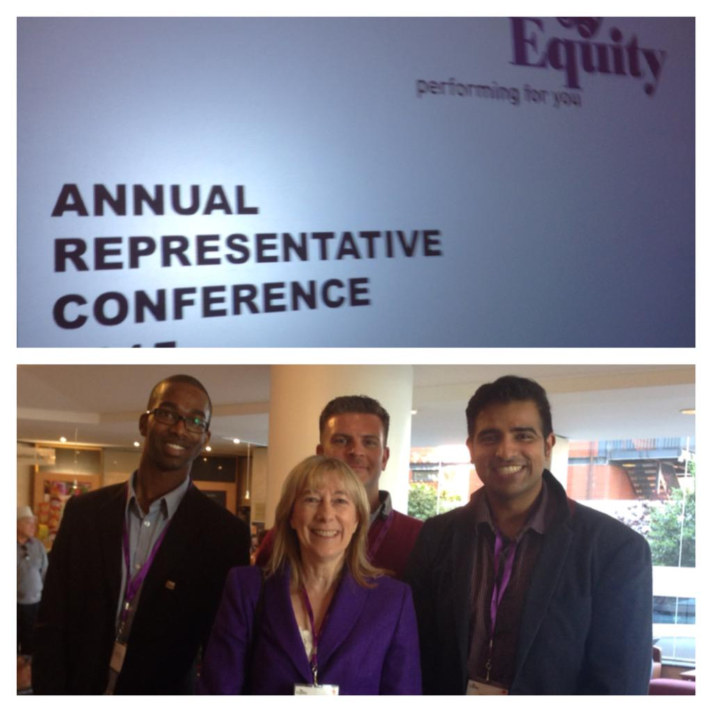#KCA #VoteJKT48ID jdhap: Happy Sunday! I'm here at EquityUK #ARC15 as representing EquityCEGB with David_Edgar Tra… http://t.co/wt7o4NuXT7