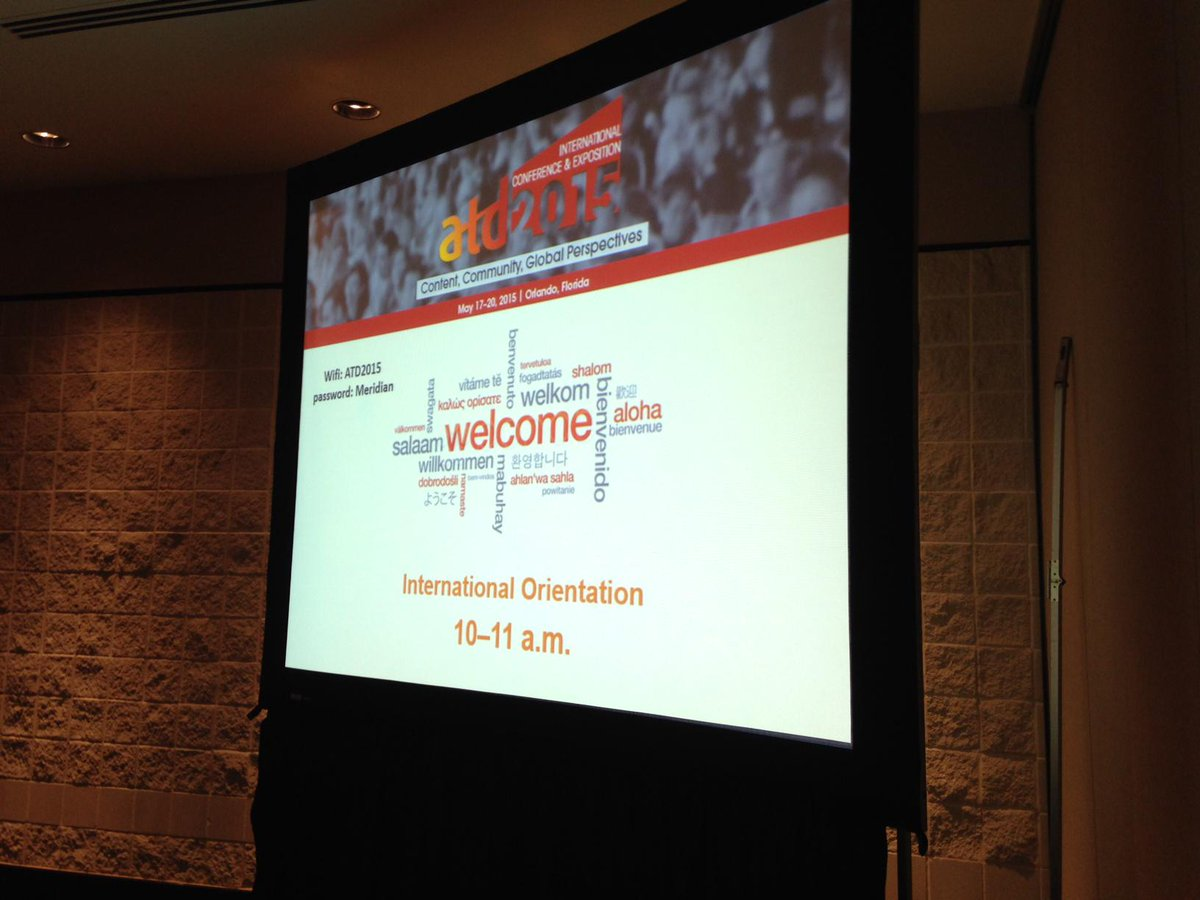 More than 2,000 people from nearly 80 countries are here! We ARE a global community! #ATD2015 @ATDIntl http://t.co/EwlM81dYN8