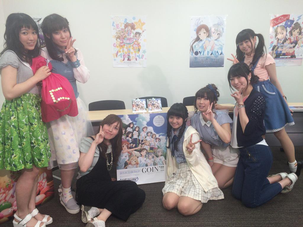 GOIN!!!発売記念ニコ生も無事に終了しました!ご視聴ありがとうございました!#imas_cg pic.twitter.com/d4wXyk6QkJ