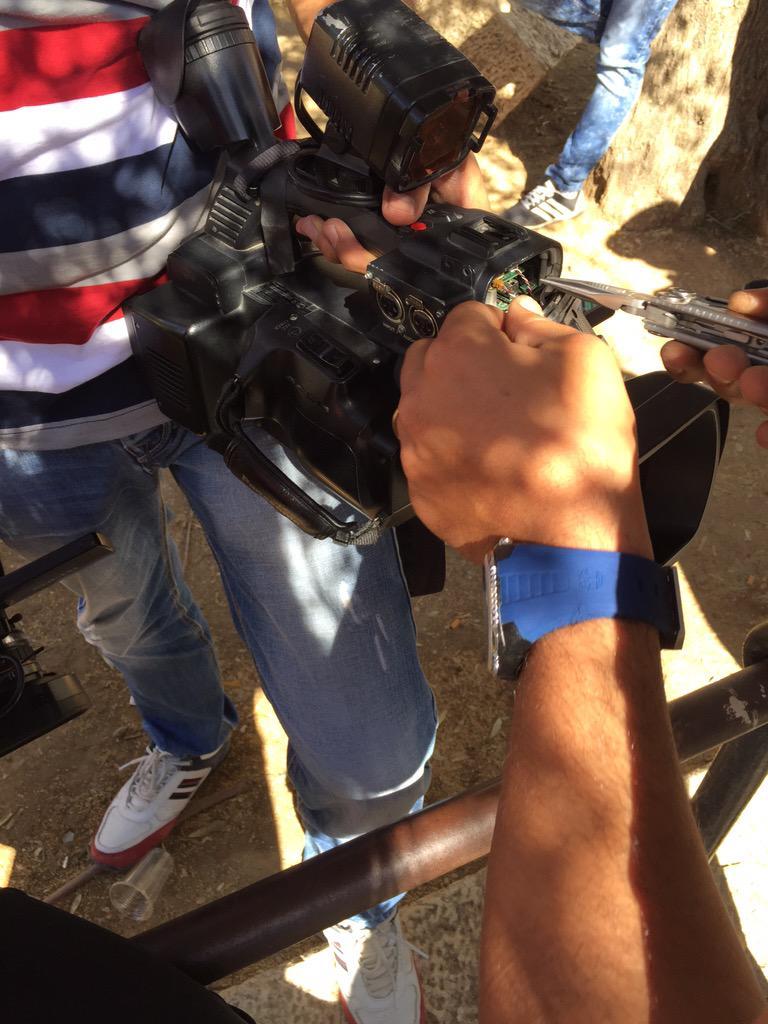 В Иерусалиме на сотрудников «Россия сегодня» напала израильская полиция