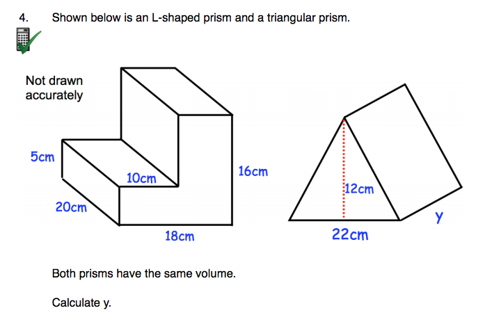 how to find the volume of any shape