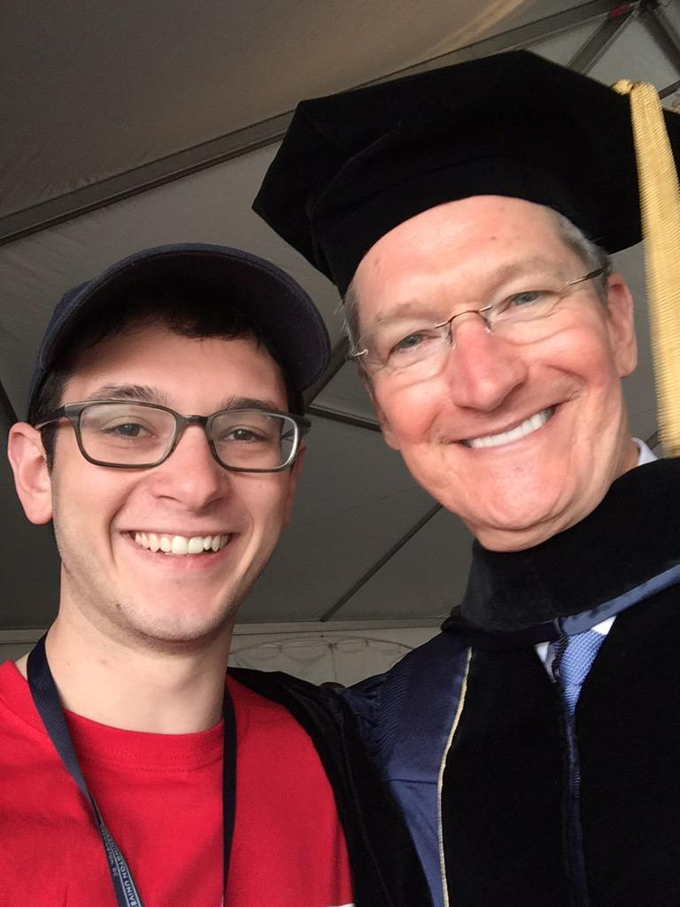 Apple CEO Tim Cook tells graduates: Values and justice belong in the workplace
