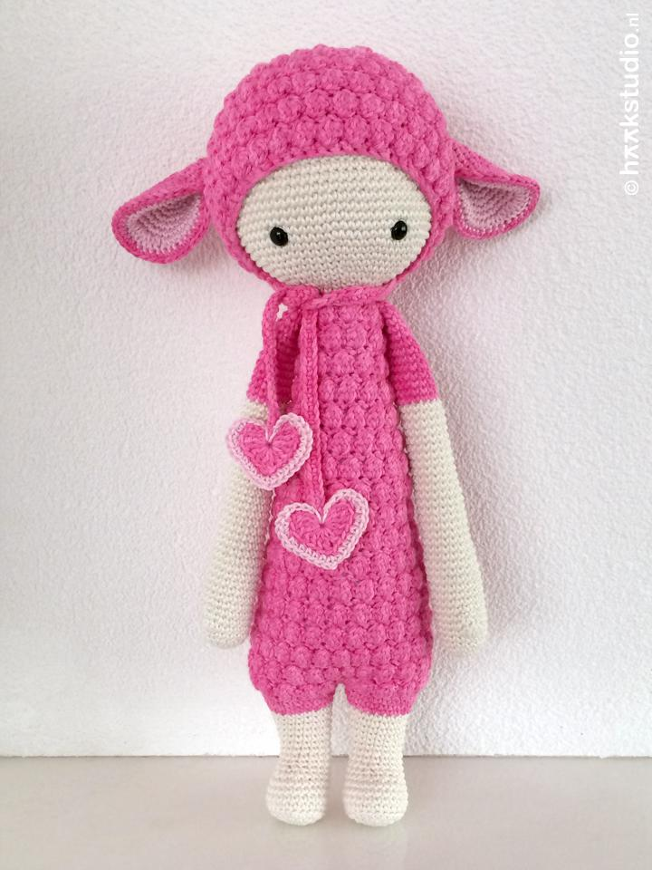 Haakstudio On Twitter Lalylala Lupo The Lamb In Het Roze