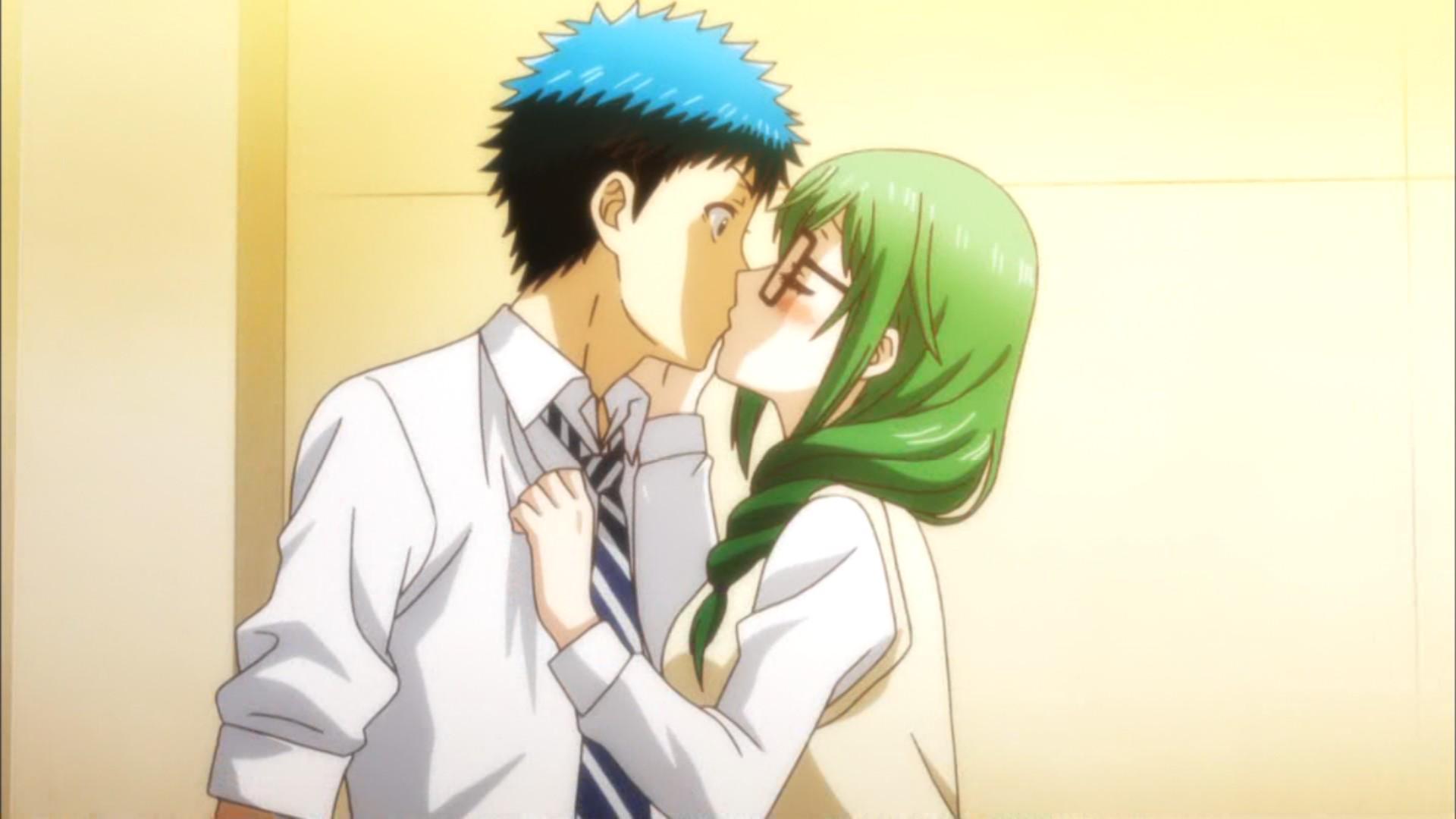 いきなりキスかよwwww #yamajo http://t.co/6iAP56libt