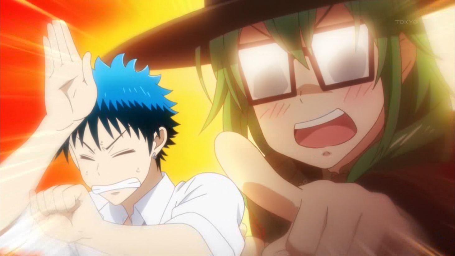 なんだその敬礼は! #yamajo #yamajo_anime #やまじょ #tokyomx http://t.co/NPtYspnY3r