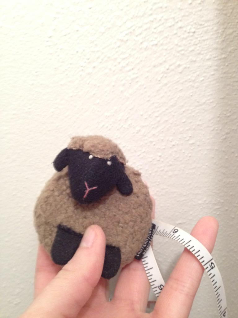 1. Measure your closet with an actual measuring tape. This one is for knitting. http://t.co/c0dtyF4iLS