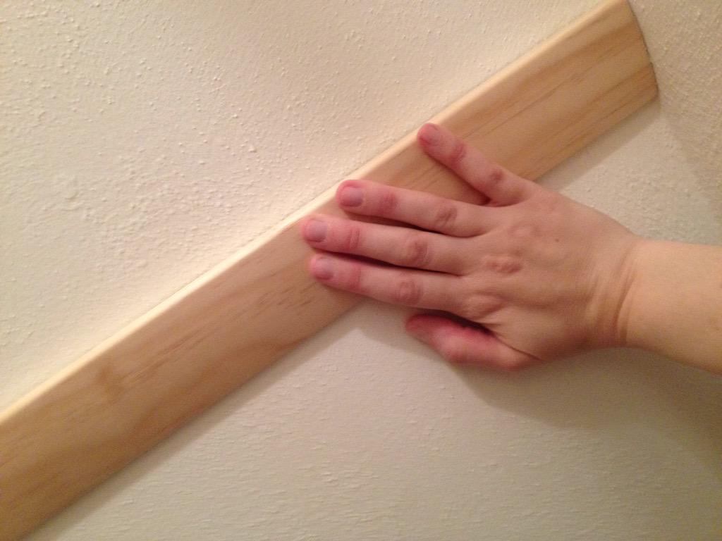 I Forget Step Number. Make back piece stick, using nails and also SCIENCE. http://t.co/RhyBwH2HMT