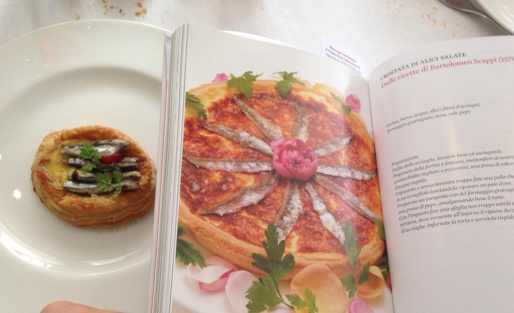 Crostata di alici salate by Dario Ranza @leopoldohotel Menù per orchestra #RSI @RSIonline @ste_verzasconi @BGibellini http://t.co/wbltR8jPFS