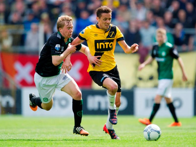 Matic playing for NAC Breda