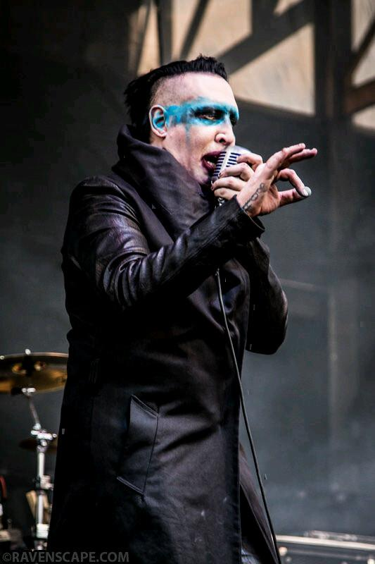 Marilyn Manson - Rock On The Range Festival (2015) HDTV 1080i