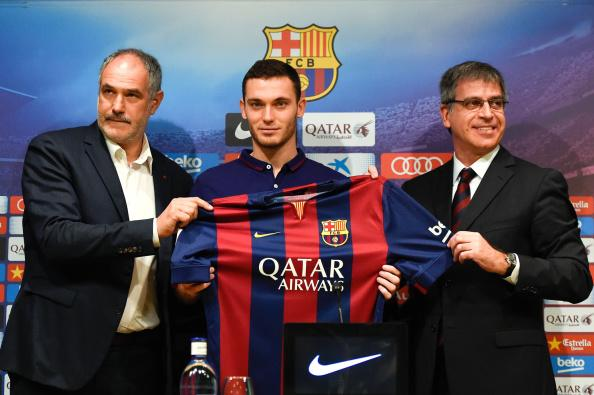 Thomas Vermaelen has now won the same number of #Liga titles as Cristiano Ronaldo.