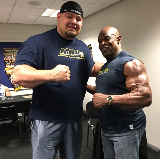 "Muscle Phone™ on Twitter: ""World's Strongest Man, Brian"