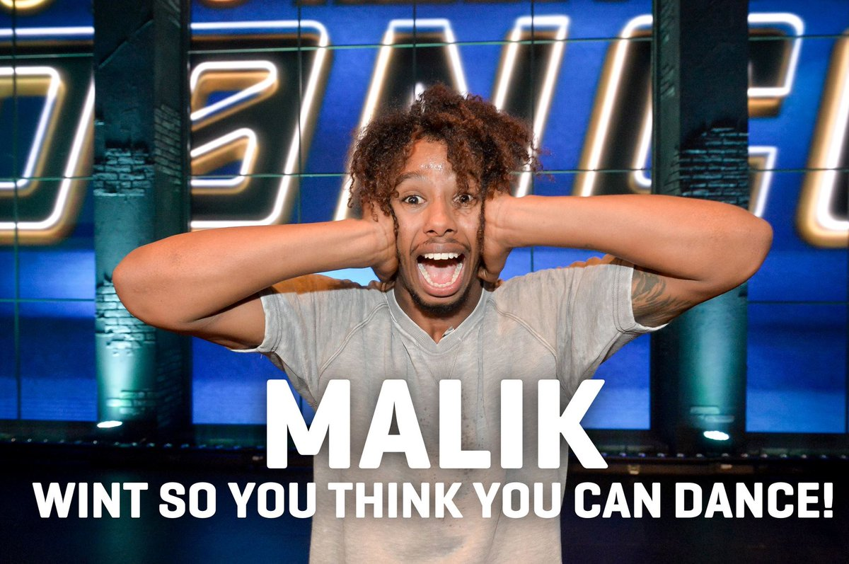 GIVE IT UP FOR MALIK! #SYTYCD http://t.co/KojIDxM5TX
