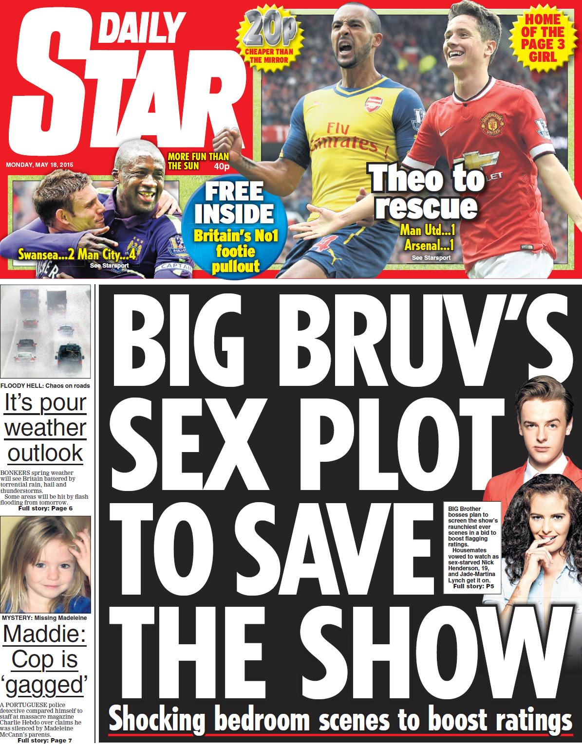 Maddie cop slams McCanns over 'gag': Ex-police boss to fight court ruling - Daily Star 18.5.15 CFPEJhQW0AIQzDb