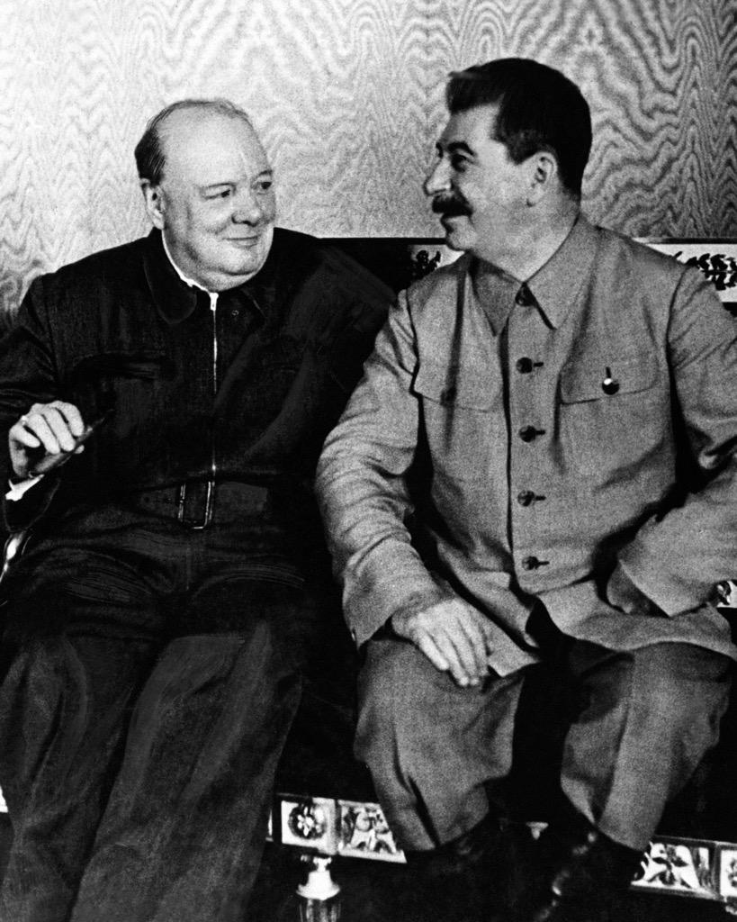 Image result for Stalin Churchill percentages agreement images