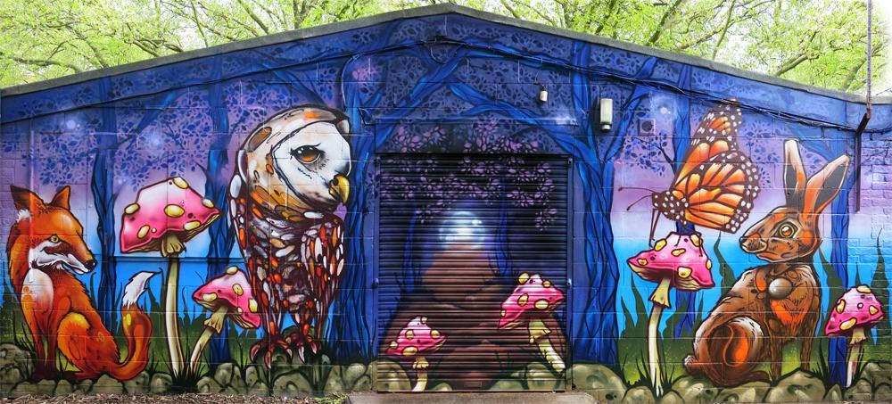 Aero Arts Graffiti On Twitter Sydenham Homepark Adventure
