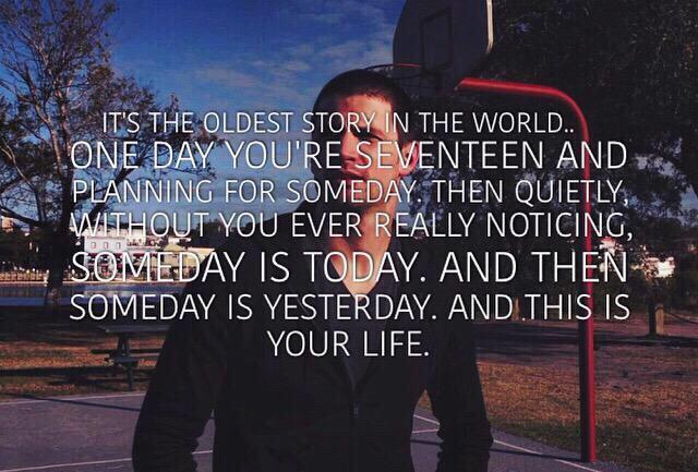One of the greatest quotes ever. #OneTreeHill http://t.co/slQ5nZnwP8