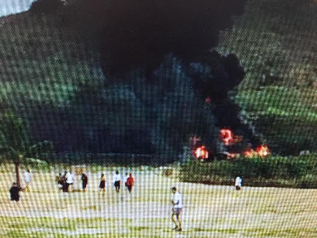 Breaking:Military aircraft crashes in Hawaii 24 people may have been aboard.Details @fox5sandiego 5PM w @Mishadibono http://t.co/KpRTzpxCzt