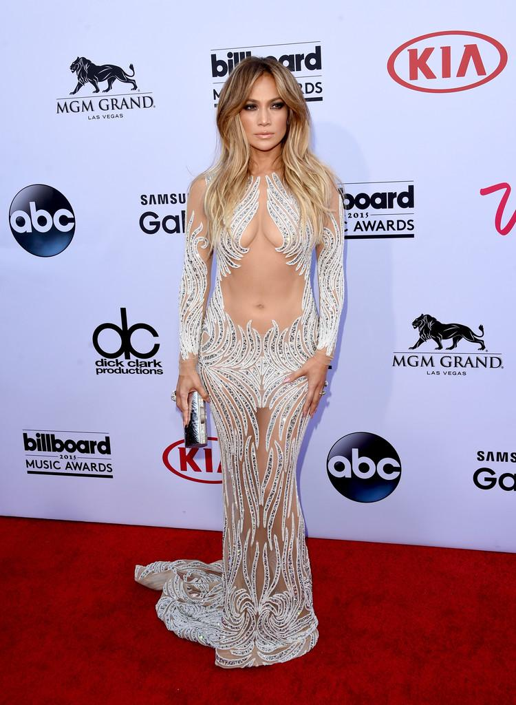 Jennifer Lopez wore a @CharbelZoe Couture illusion dress to the Billboard Music Awards tonight. #BBMAs @OfficialBBMAs http://t.co/8iagjcuEG4