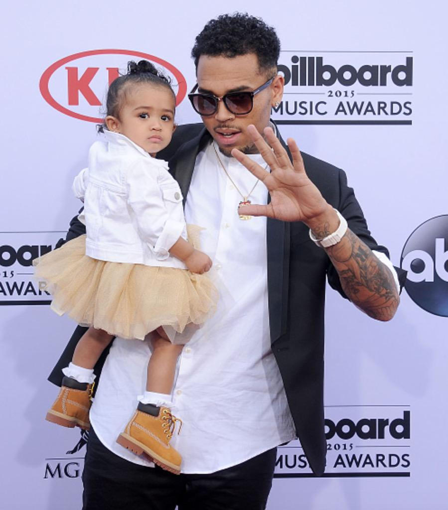 Chris and Royalty at the #BBMAs ❤️