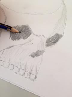 Dando forma plástica a las ideas de la obra de Joyce #meriendajoyce http://t.co/hkXB4r30AI