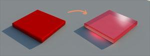 フォトショップで手軽にに透明材質を作るために最近使っている方法。○ニ○ーンガン○ムとかのサイ○フレー○などを描くのに便利ですw http://t.co/r2OtjJJHrt