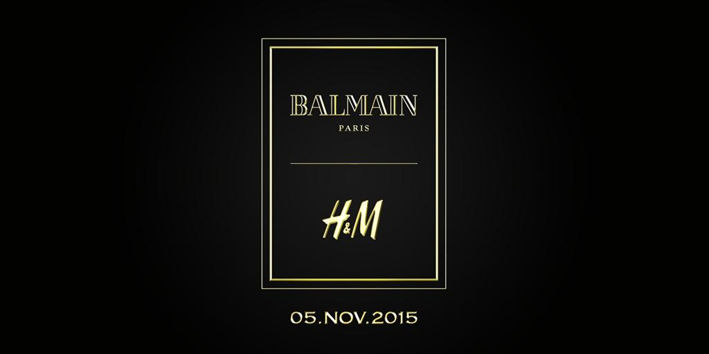 We are happy to announce that the House of Balmain is our next guest designer collaboration!  #HMBALMAINATION http://t.co/JUVIsbOfgf