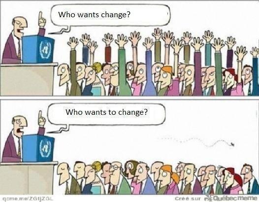 #Endringsledelse krever endring i #ledelse før endring hos ansatte. http://t.co/RQGXPwrWQI