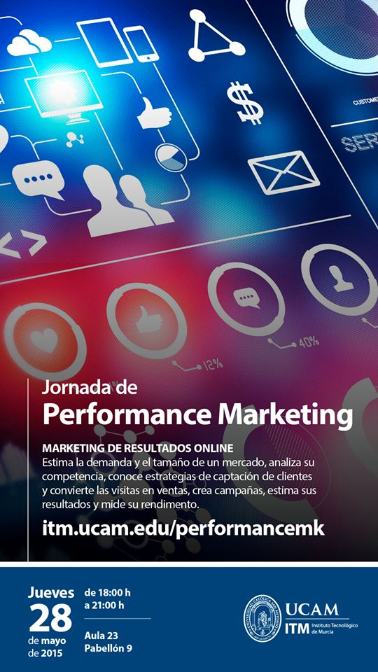 Thursday 28th May - Discussions on Performance Marketing Online  Room 23 , Building 9 18:00 - 21:00 http://t.co/uGd7yRADcY