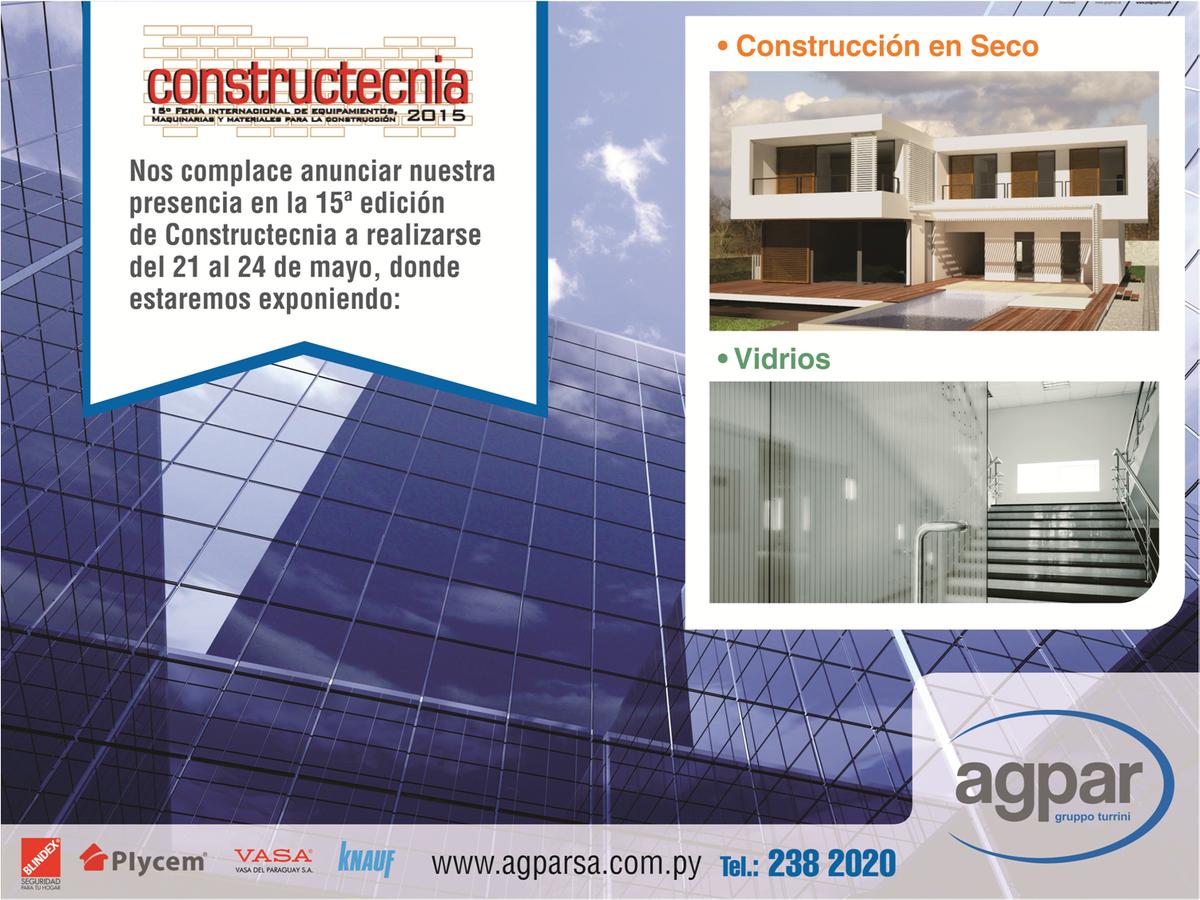 #Construtecnia del 21 al 24 de mayo, Centro de Convenciones Mcal. López, #construccionpy #blindextempladopy http://t.co/wYvj7USTUe