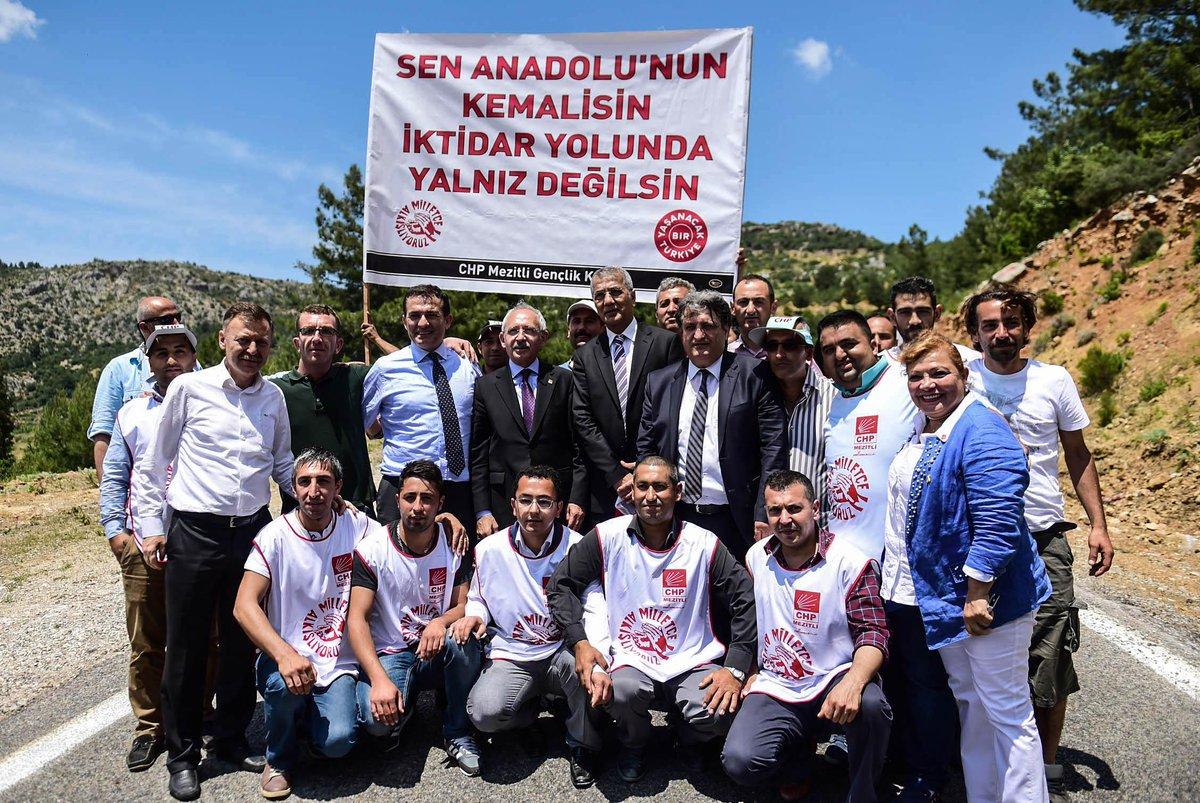 #HalkınUmuduSivasta  Anadolu'nun Kemal'i İKTİDAR yolunda yalnız değilsin.  SİVAS da Seninle... @kilicdarogluk