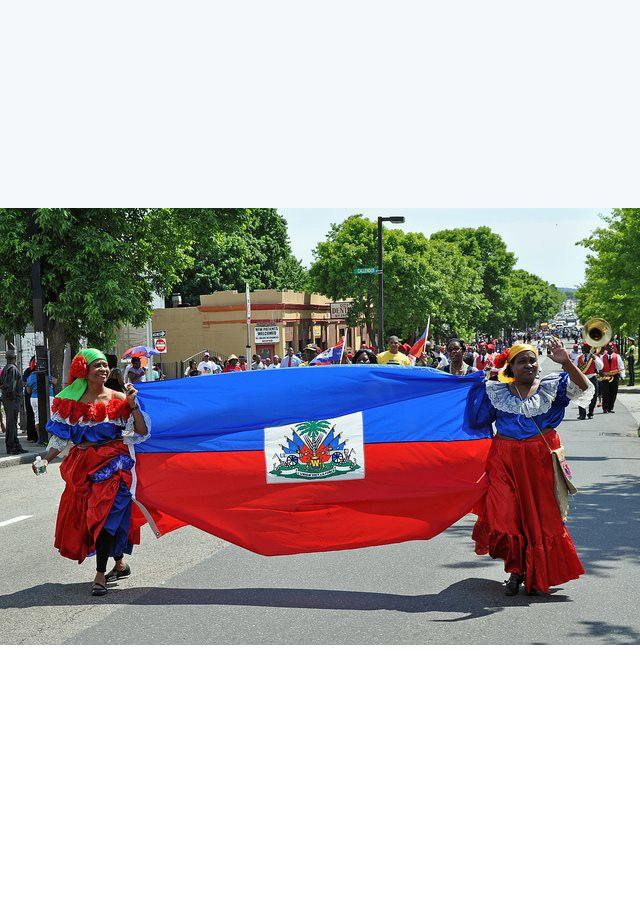 "Today we celebrate Haitian Flag Day. ""L'Union Fait La Force"" / ""Unity Makes Strength"" http://t.co/YY563F5fYa"