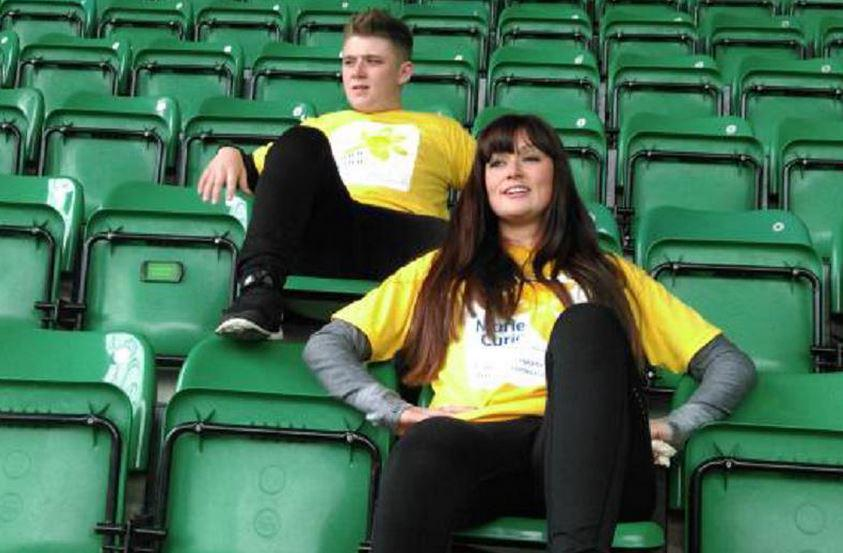 RT @ScottishSun: X Factor's @nickymcdonald1 & WAG @a_rose1dresses plan Celtic Park sit-athon for @mariecurieuk http://t.co/Ul8o1MWaXj http:…